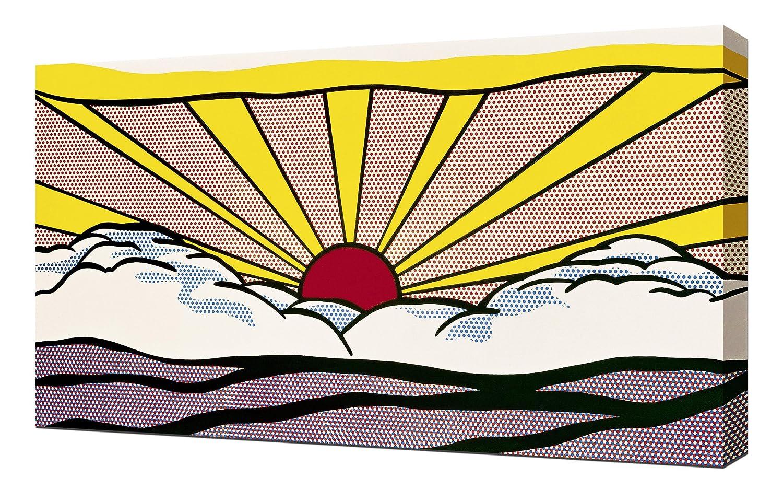 Lilarama Roy Lichtenstein Sunrise - Pop Pop Pop Art Leinwandbild - Kunstdrucke - Gemälde Wandbilder 6cb305