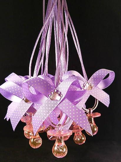 Amazon.com: Purple & Pink Little Princess Baby Shower Collar ...
