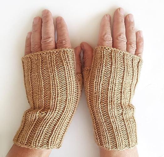 Amazon Mens Basic Gloves Fingerless Gloves Men Mens Knit