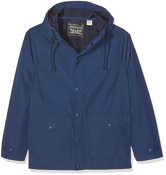 Levis LIGHT WEIGHT SUTRO PARKA DRESS BLUES, Chaqueta Hombre, Azul (Dress Blues), Small: Amazon.es: Ropa y accesorios