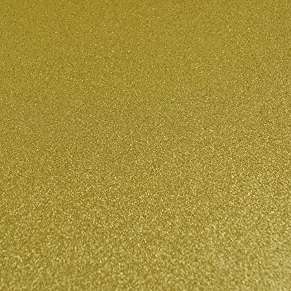 NO SHED Craft Bows Sewing 2 x A4 Sheets PALE GOLD GLITTER FELT FABRIC