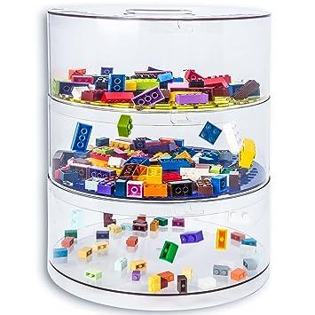 BLOKPOD Toy U0026 Lego Storage Bin Organizer Multipurpose Stackable Storage  Solution Large Capacity: 16 Litres