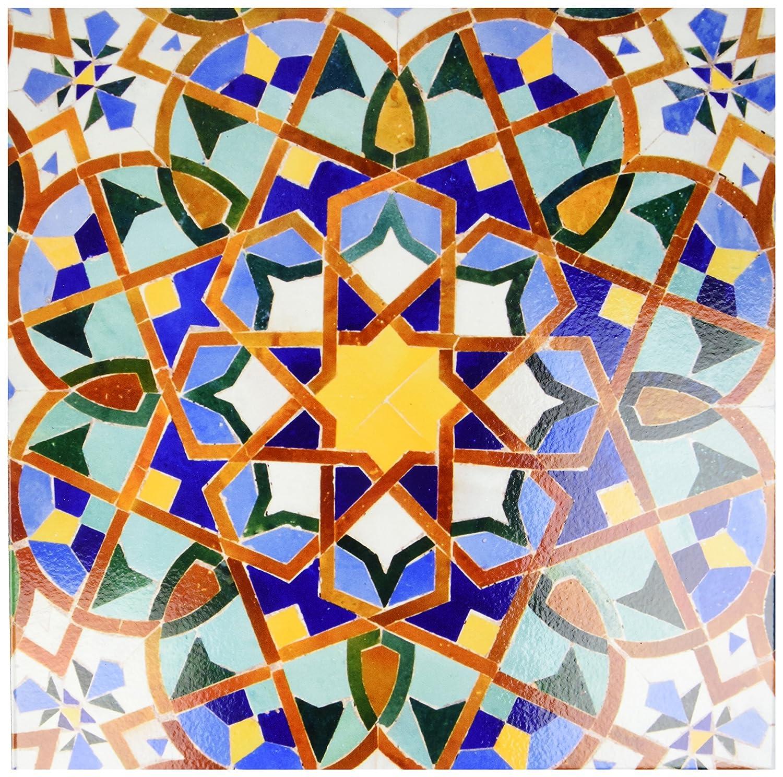 Amazon 3drose Llc Ct735804 Ceramic Tile 12 Inch Morocco