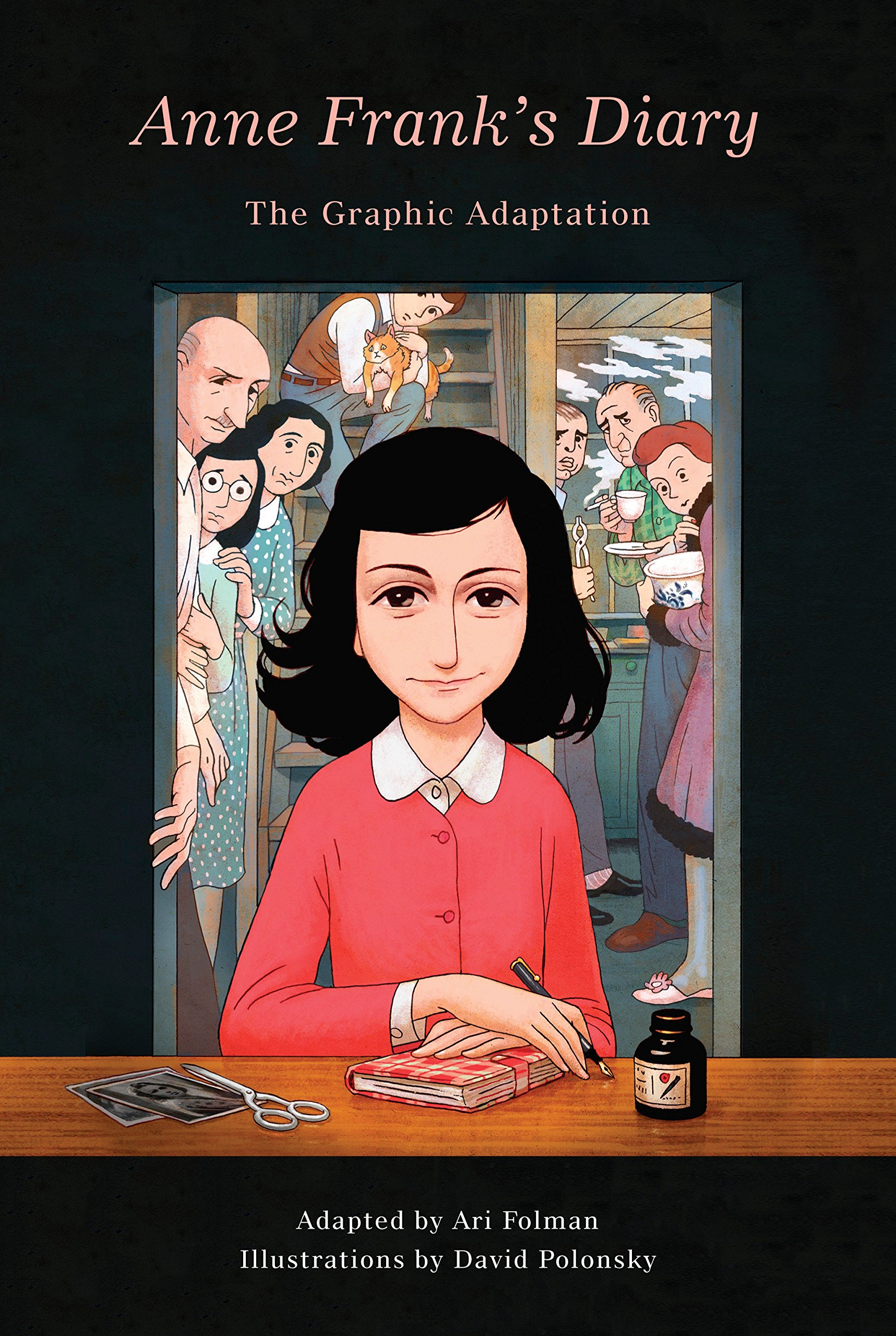 Image result for diary anne frank graphic novel amazon