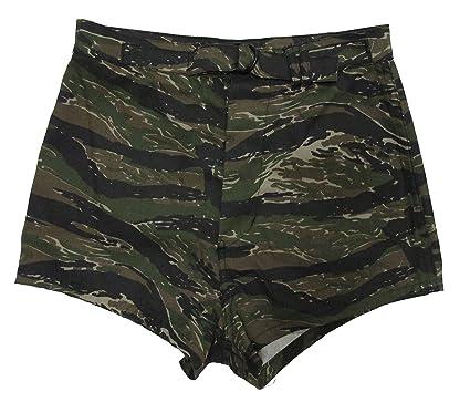 d19a90cfbc Amazon.com: Tru-Spec Vietnam Tiger Stripe UDT Shorts: Clothing