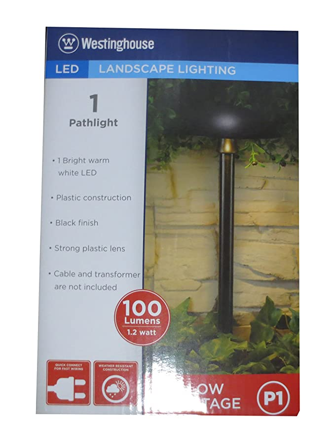 Ledhill Westinghouse 1-Pc Low Voltage Landscape 5 1/8\