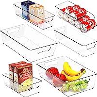 6 Pack - SimpleHouseware Freezer Storage Fridge Organizer