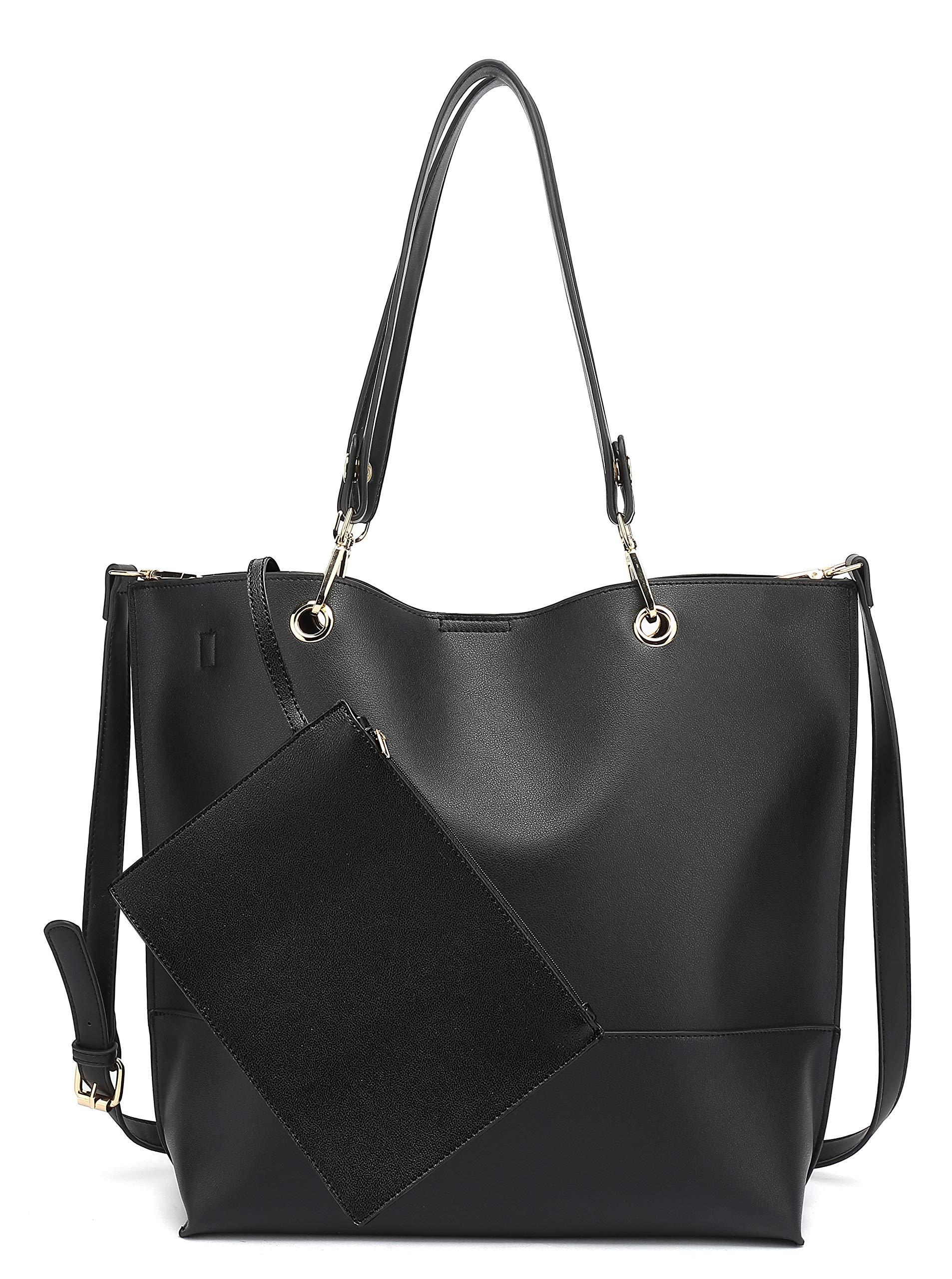 Scarleton Stylish Reversible Tote Handbag for Women Vegan Leather Shoulder Bag Hobo bag Satchel Purse H1842