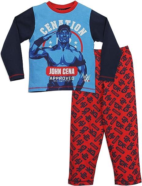 WWE - Pijama para Niños - WWE John Cena - 12-13 Años