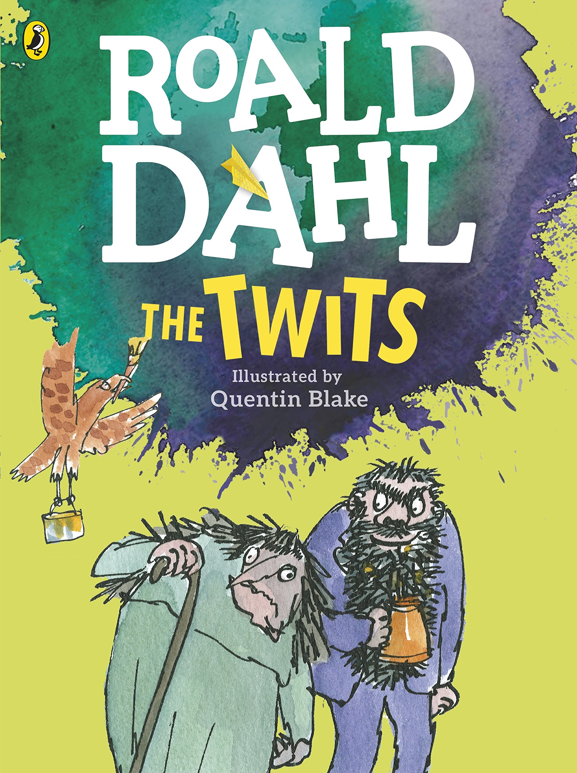 The Twits (Colour Edition): Amazon.co.uk: Dahl, Roald, Blake, Quentin:  9780141369341: Books