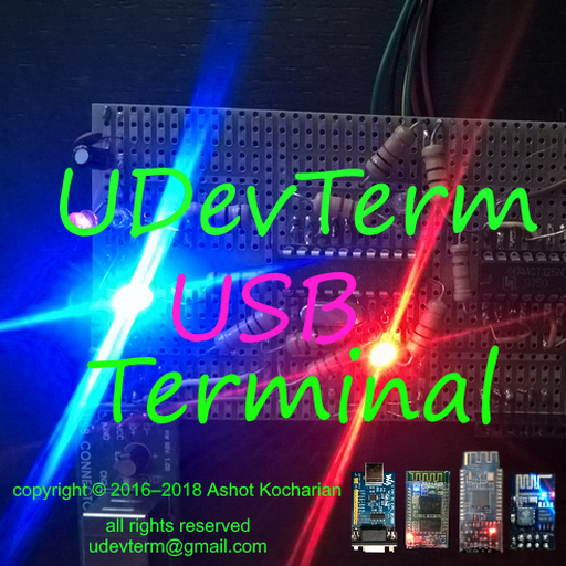 Interactive USB Color Terminal