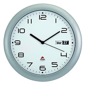 alba horday2 fr horloge murale silencieuse avec dateur 30 x 5 5 x