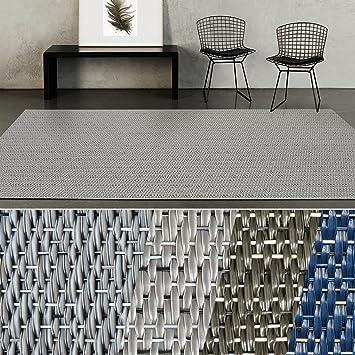 Casa Pura Indoor Outdoor Teppich Turin Bodenbelag Fur Flur Kuche Bad Terrasse Balkon Garten Kunstvoll Gewebt Mit Schimmer Optik Viele