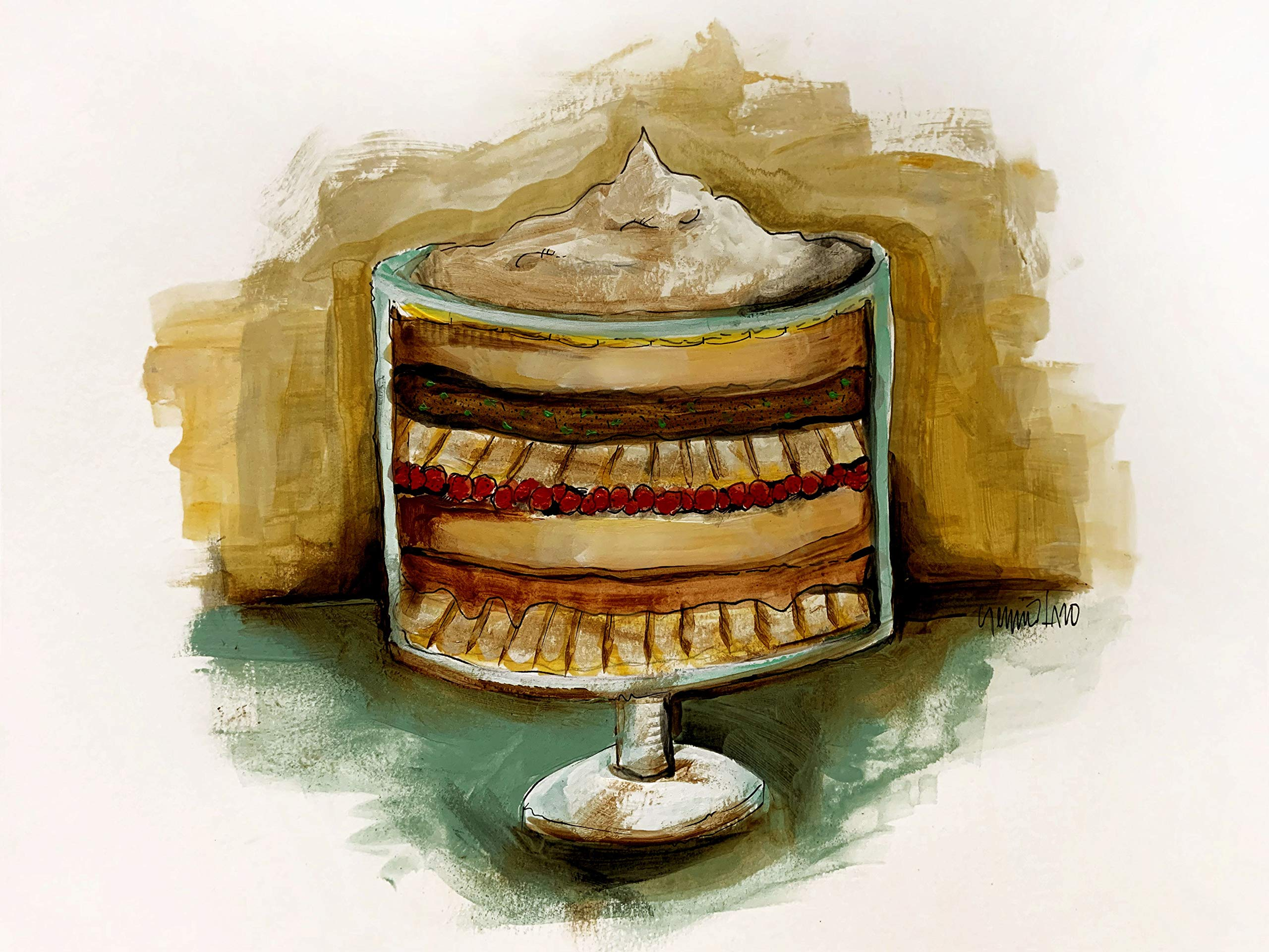 English Trifle by