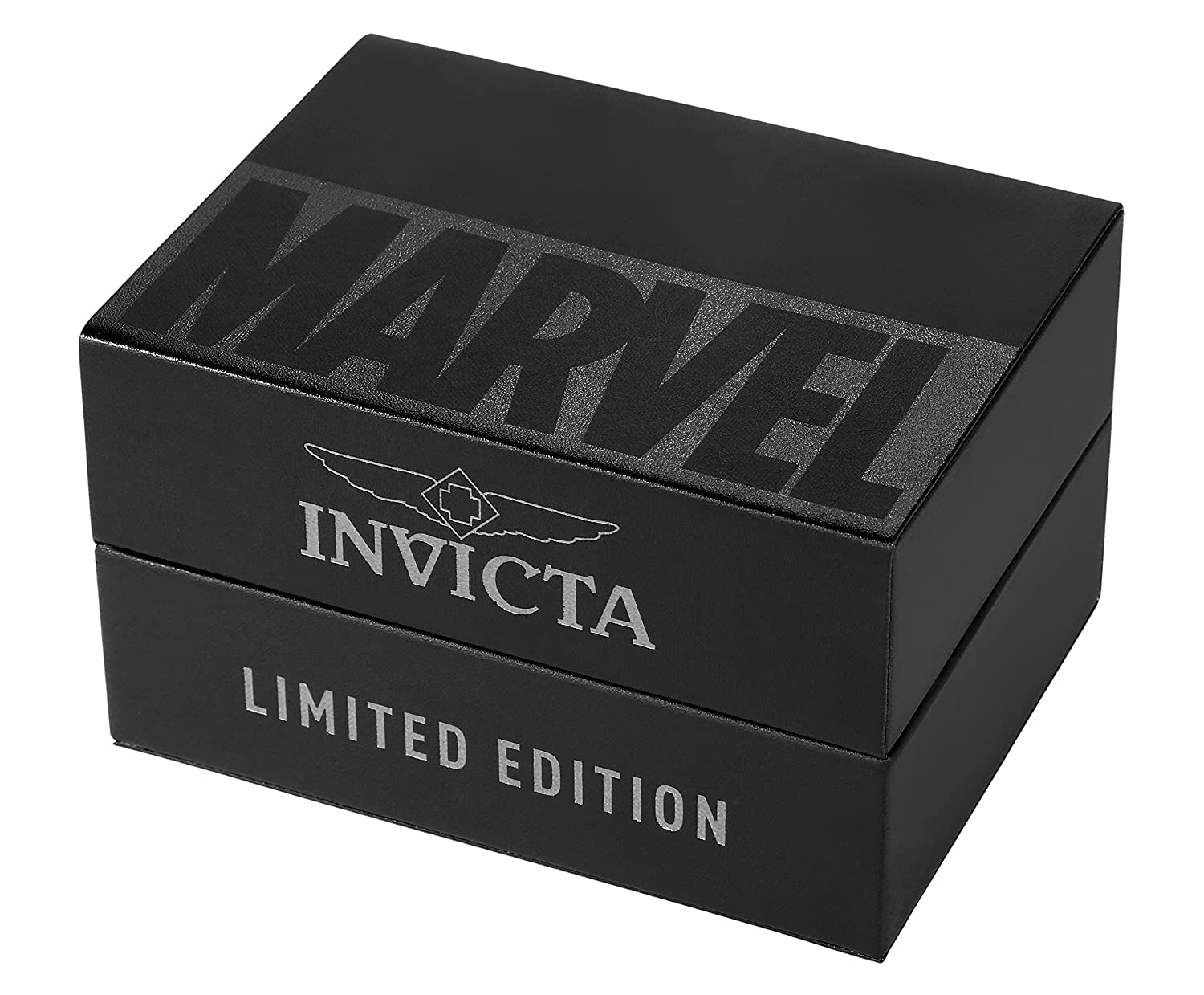 Invicta Marvel Iron Man Edition Gold Dial Chronograph Stainless Steel Men s Watch 25781
