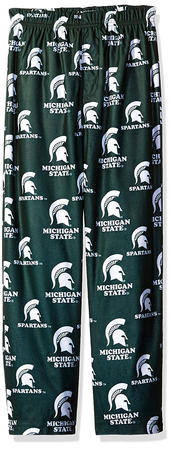 Kids Medium 5-6 Hunter Green NCAA by Outerstuff NCAA Michigan State Spartans Kids Color Printed Pant