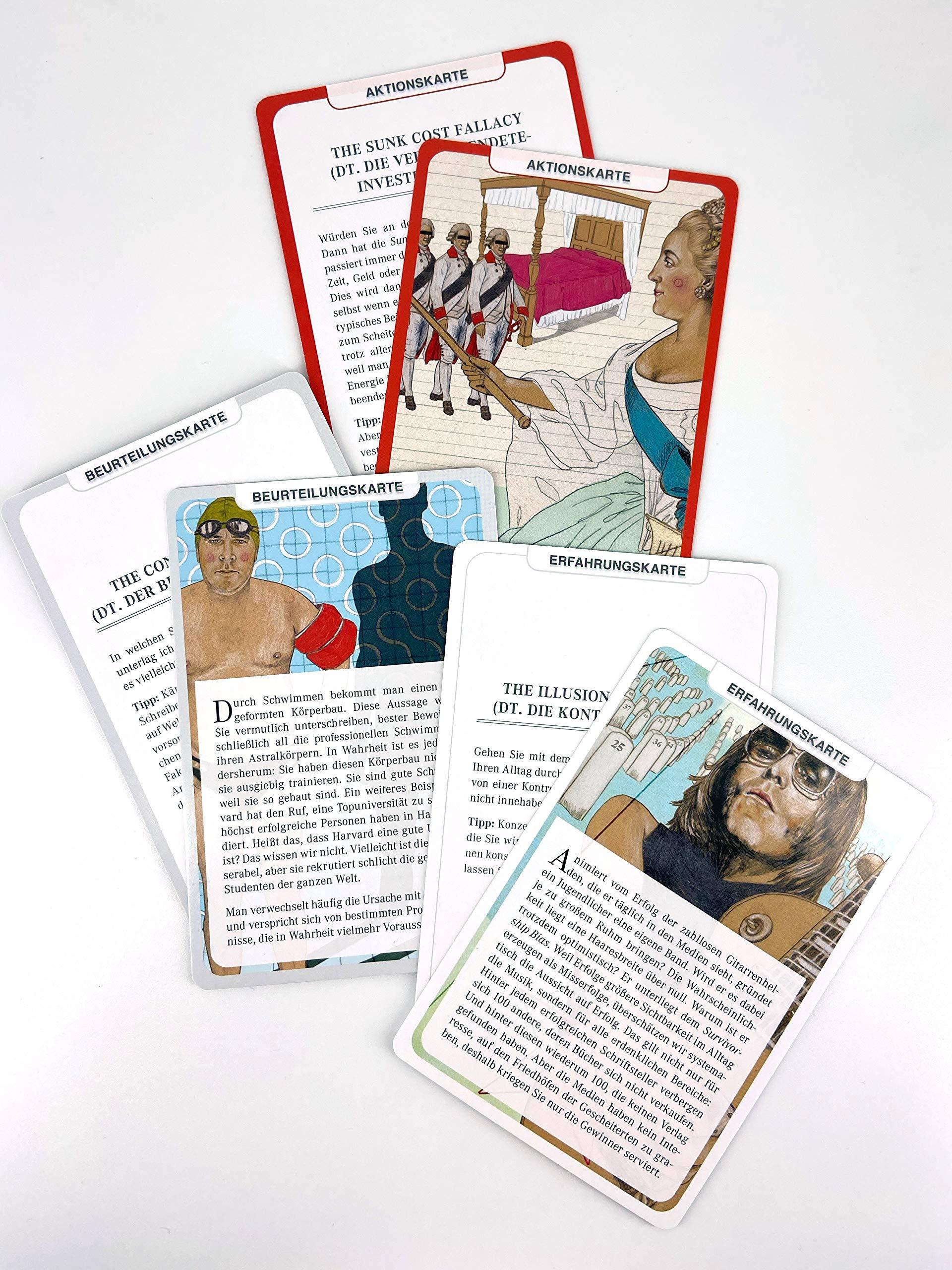 Die Kunst Des Klaren Denkens Das Kartenspiel Mit Dem Sie Denkfehler Erkennen Und Vermeiden Dobelli Rolf Bücher