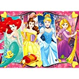 Ravensburger - Disney Princess Heartsong 60 Piece Glitter Jigsaw Puzzle for Kids – Every Piece is Unique, Pieces Fit…