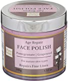 Auravedic Age Repair Face Polish with Pomegranate Grapeseed 100g