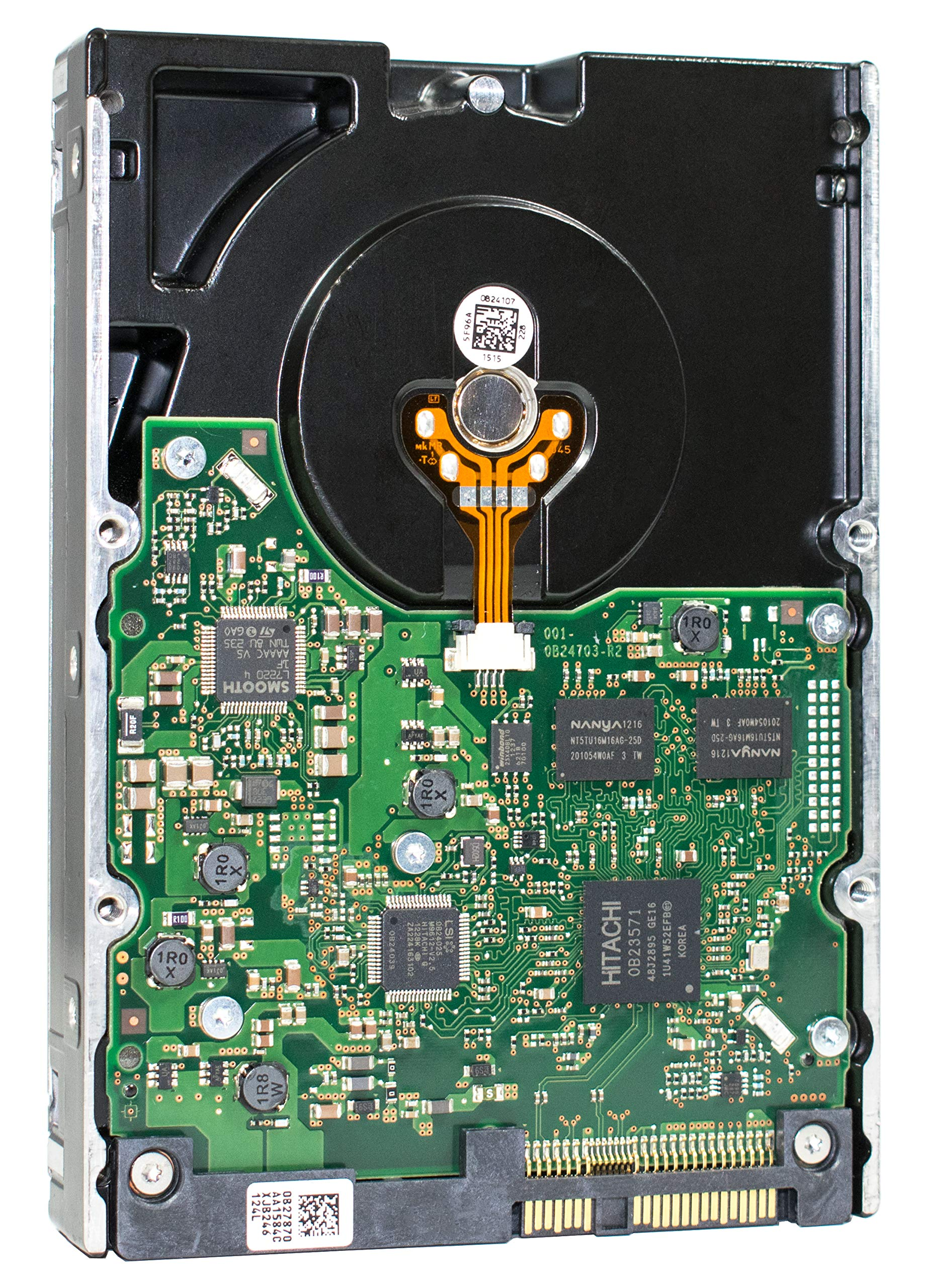 HGST Ultrastar 15K600 | 600GB 15K RPM SAS 6Gb/s 64MB Cache 3.5'' Inch | 1.6 Million MTBF | HUS156060VLS600 | Enterprise Hard Disk Drive With Mission Critical Performance (HDD) by HGST (Image #1)