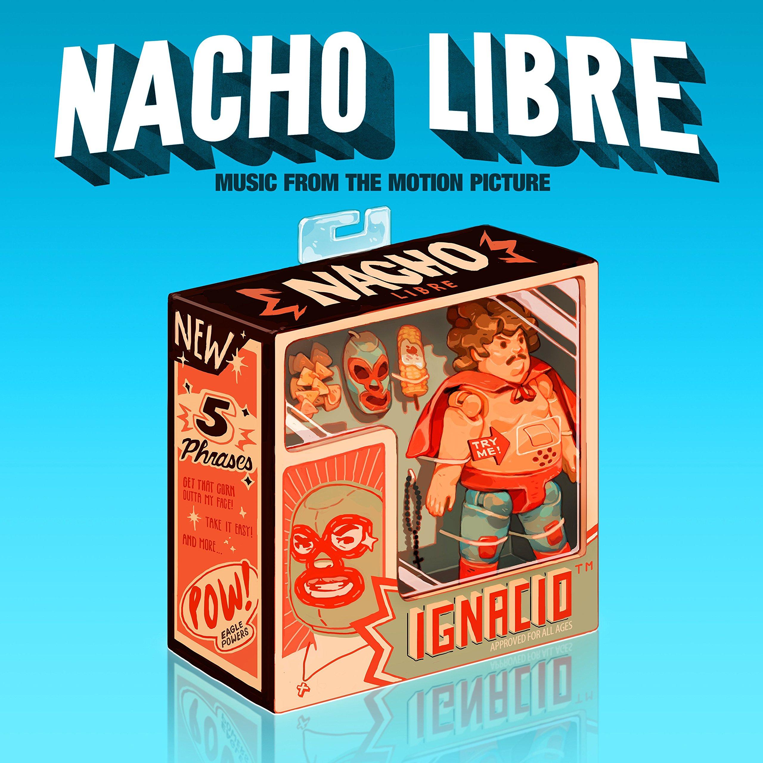 Vinilo : Soundtrack - Nacho Libre (Music from the Motion Picture) (Colored Vinyl, Blue, 2 Disc)