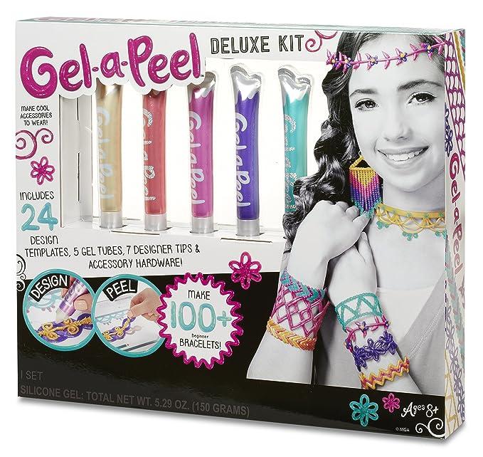 Gel-a-Peel Deluxe 5 PK Kit - Kits de joyería para niños (Chica,, Caja, CE): Amazon.es: Juguetes y juegos