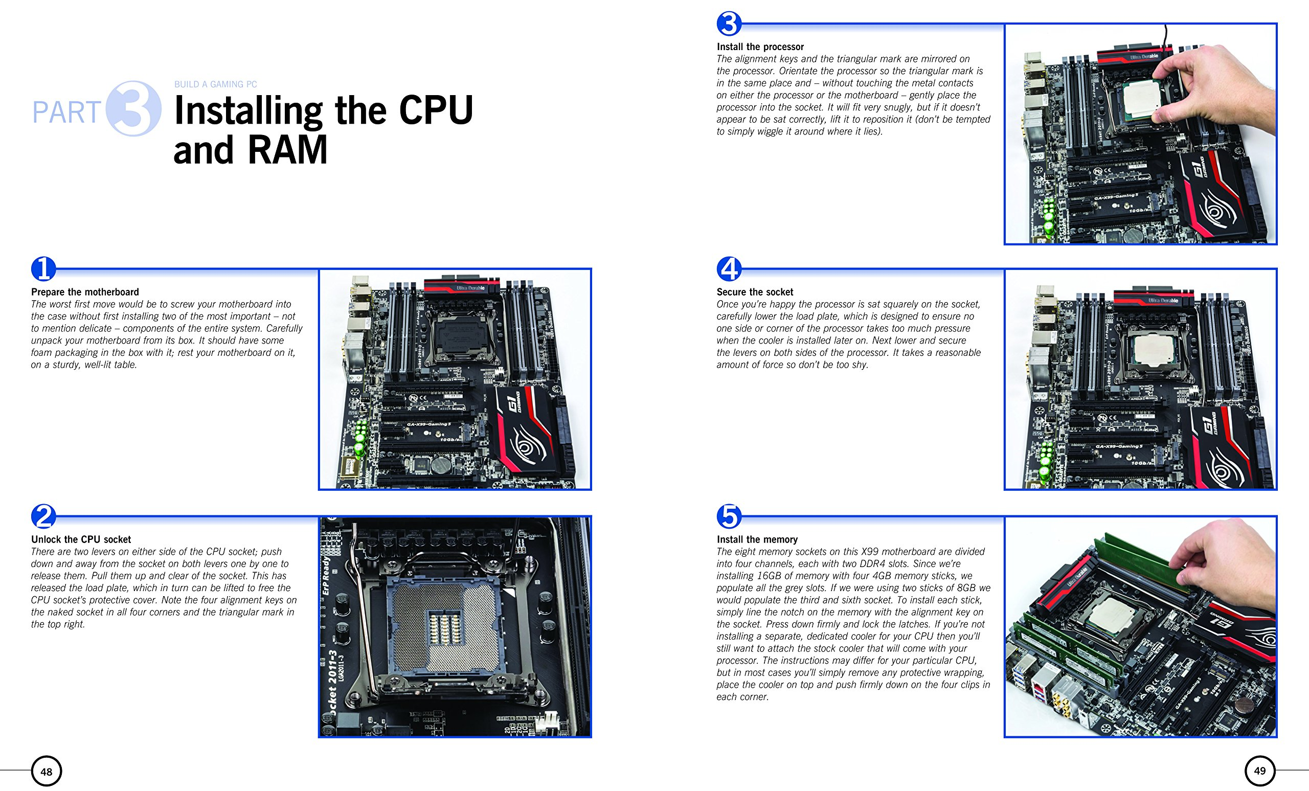 Build Your Own Gaming PC: The step-by-step manual to building the ultimate  computer: Russell Barnes: 9780857338020: Amazon.com: Books