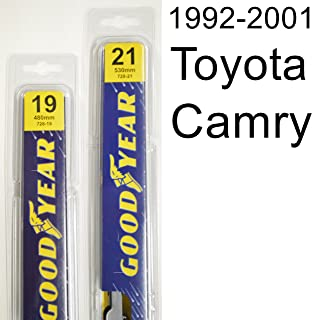 "product image for Toyota Camry (1992-2001) Wiper Blade Kit - Set Includes 21"" (Driver Side), 19"" (Passenger Side) (2 Blades Total)"