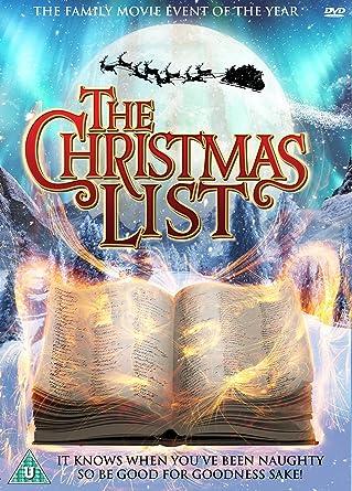 the christmas list dvd - Amazon Christmas List