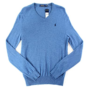 f55b8520d Polo Ralph Lauren Mens Pullover V-Neck Sweater at Amazon Men s Clothing  store