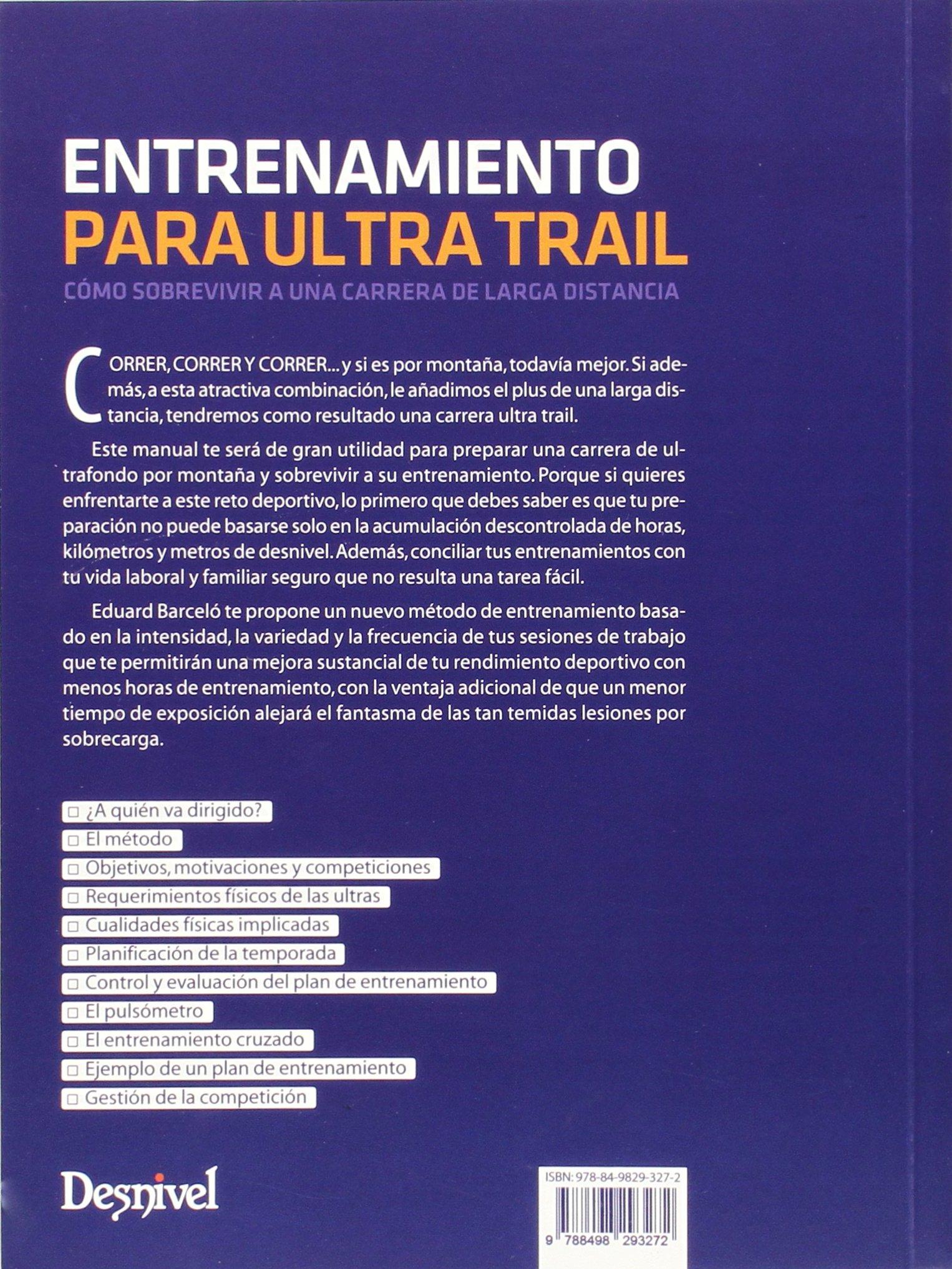 plan entrenamiento ultra trail 100 km