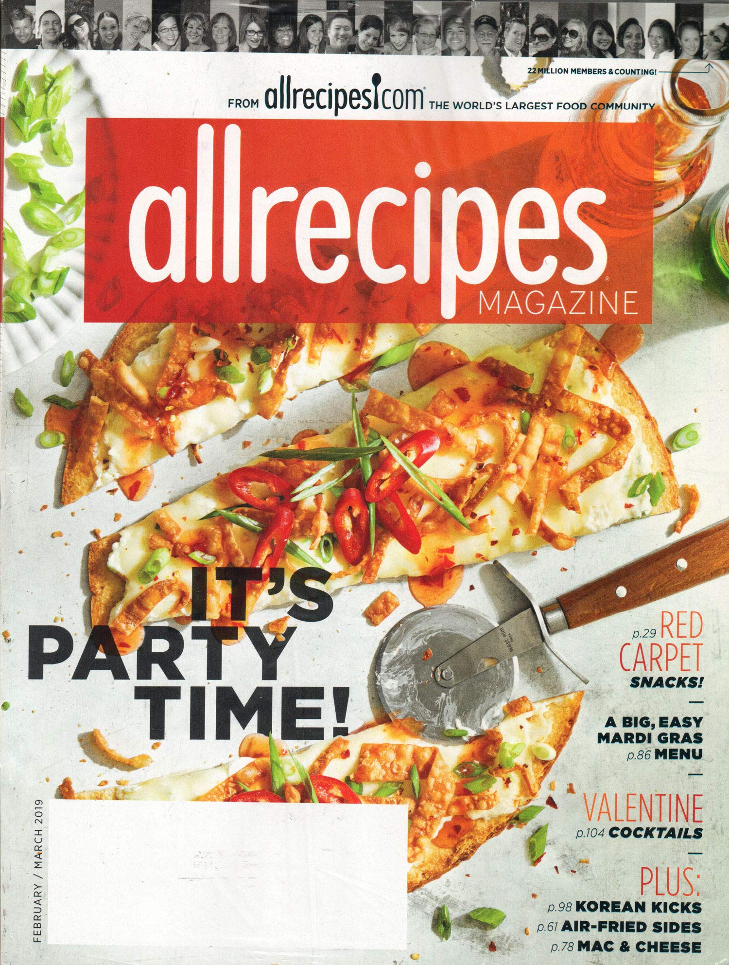 Allrecipes Magazine February/March 2019 | It's Party Time