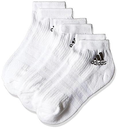 adidas 3S per An HC 3P Socks, Unisex Adulto, Blanco, 19-22