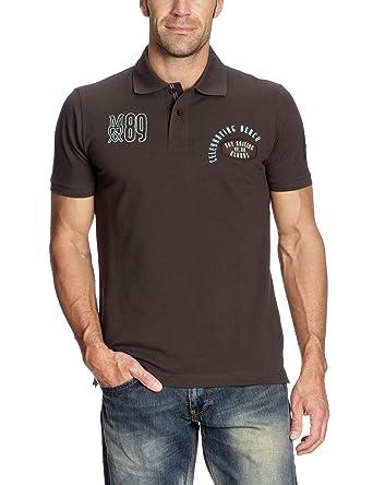 Mexx - Polo - para hombre marrón marrón 46: Amazon.es: Ropa y ...