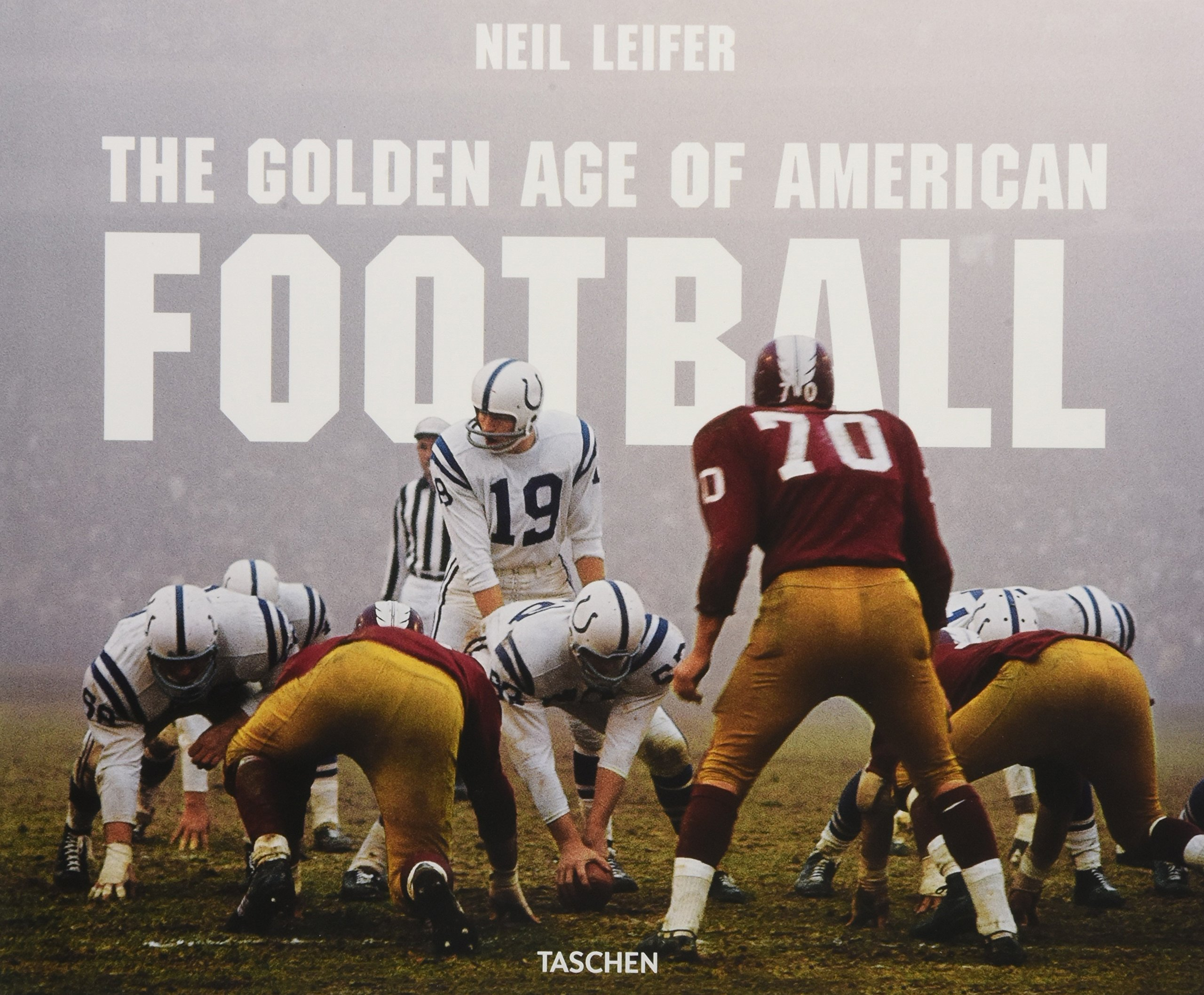 Leifer  The Golden Age of American Football Hardcover – July 30 6a959b0ed8c
