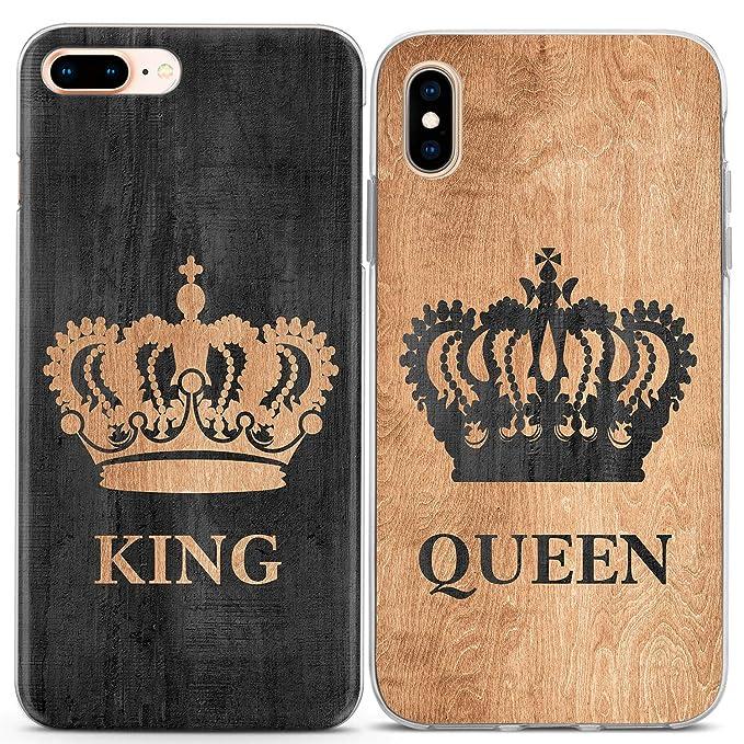 5c3502b5e4 Amazon.com: Lex Altern Couple iPhone Case Xs Max X Xr 10 8 Plus 7 6s ...