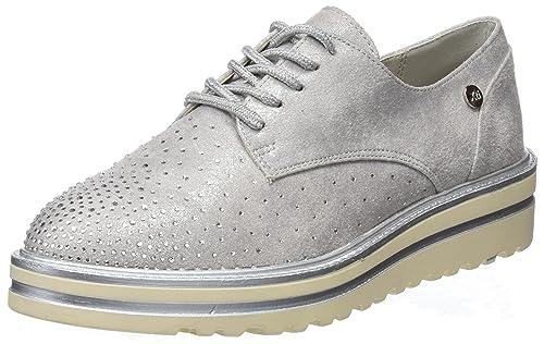 47734, Zapatillas sin Cordones para Mujer, Blanco (Hielo), 39 EU Xti