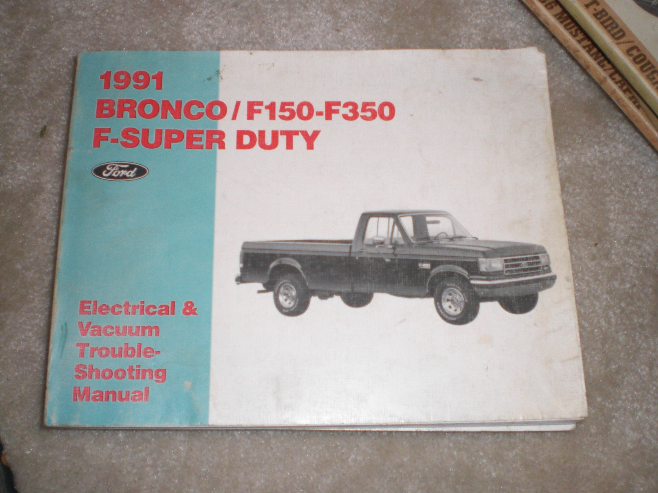 1991 ford vin location f350