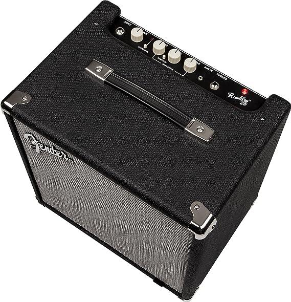 Fender Rumble 25 (V3)   1 x 8 25 W amplificador de Combo de graves: Amazon.es: Instrumentos musicales