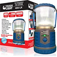 Tough Light LED Rechargeable Lantern - 200 Hours of Light from a Single Charge, Longest Lasting on Amazon! Camping and…