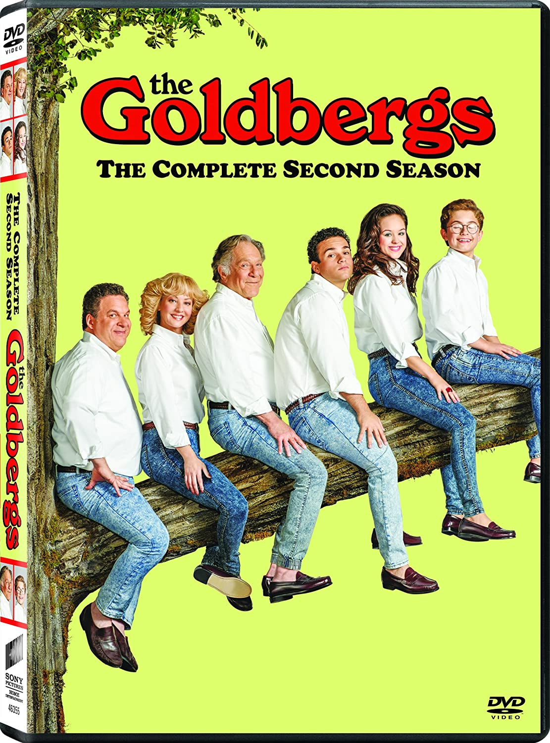 Amazon The Goldbergs Season 2 Jeff Garlin Wendi McLendon Covey Hayley Orrantia Sean Giambrone Troy Gentile George Segal Movies TV