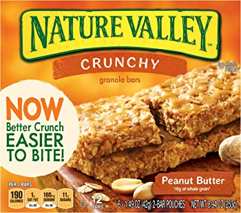 6-Pk. Nature Valley Peanut Butter Granola Bars