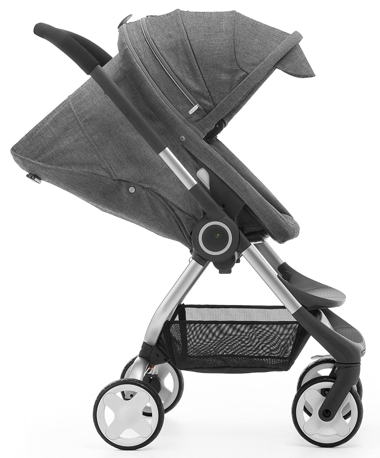 Stokke Scoot Carrito tradicional 1Asiento(s) Negro - Cochecito (Carrito tradicional, 1 Asiento(s), Negro, 15 kg, 640 mm, 540 mm): Amazon.es: Bebé