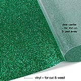 RUSPEPA Glitter Heat Transfer Vinyl -Glitter
