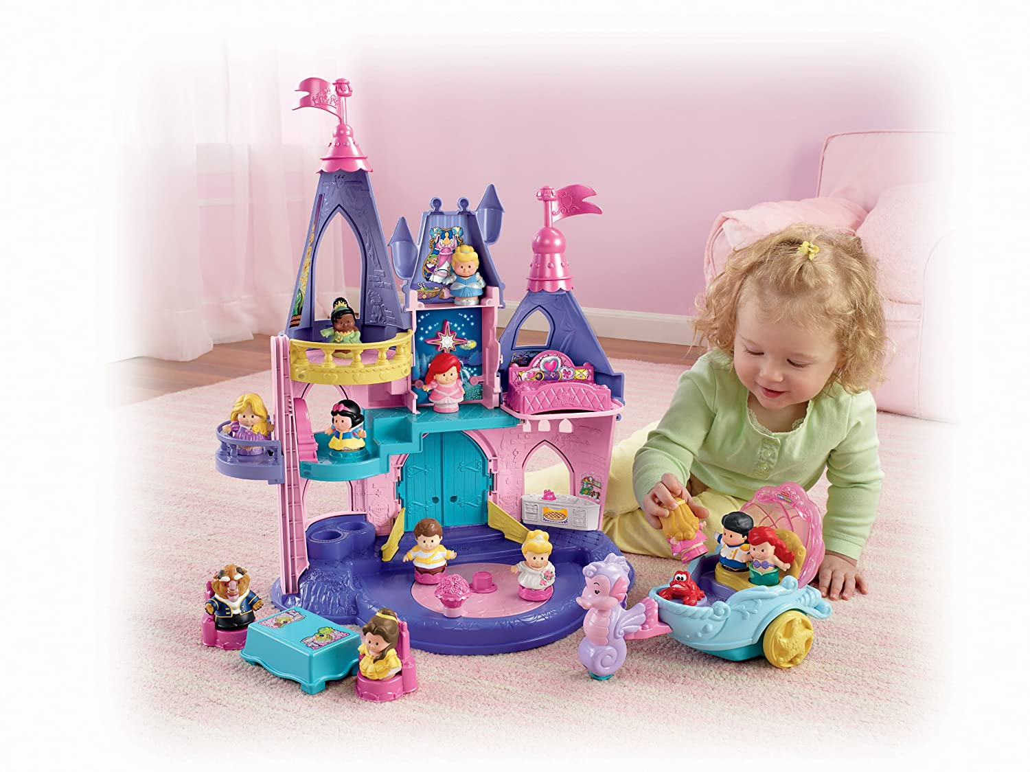 Dolls & Bears Dolls, Clothing & Accessories Disney Princess Snow White & The 7 Dwarfs Dolls Play Set Less Expensive