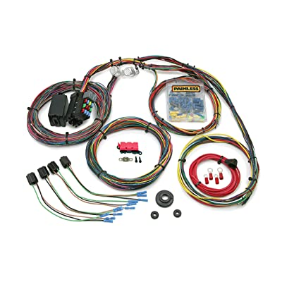 Painless 10127 Customizable Mopar Color Coded Chassis Harness (21 Circuits), 1 Pack: Automotive