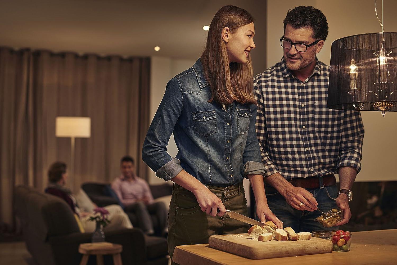 Philips Master DEL Candle dans Kerzenform e14 8 W clair 55599600 Dimtone