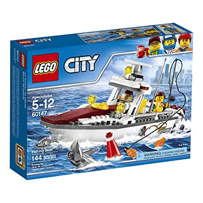 LEGO City Fishing Boat 60147 Creative Play Toy: Toys & Games