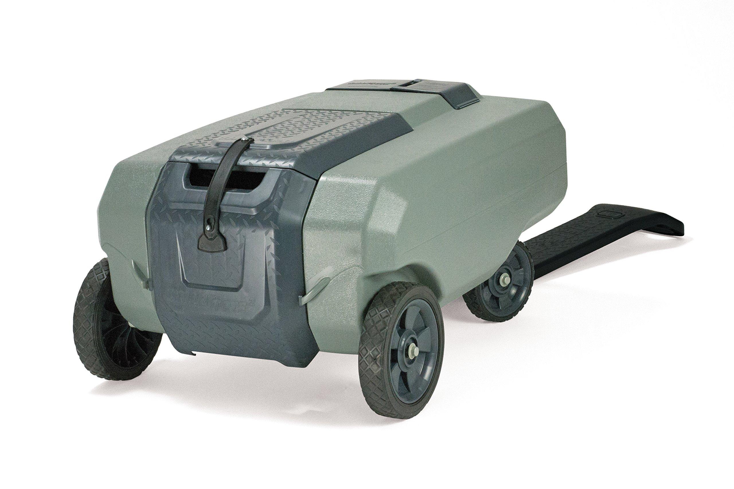 SmartTote2 RV Portable Waste Tote Tank - 4 Wheels - 35 Gallon - Thetford 40519 by SmartTote2 (Image #8)