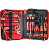 Fstop Labs 14 Pieces Auto Upholstery Trim and Molding Removal Tool Kit, Car Dash Panel Removal and Install Kit with Storage Bag